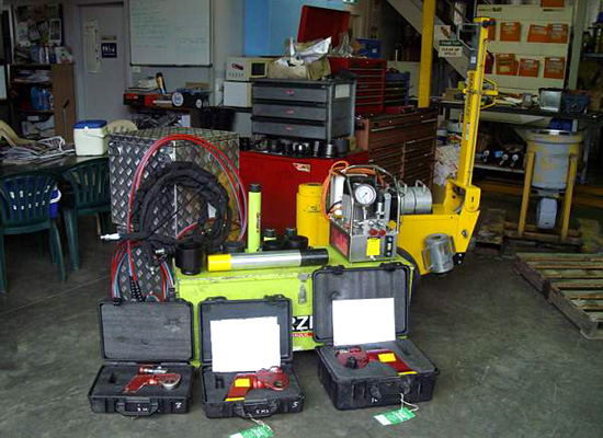Hydraulic Tooling Hire